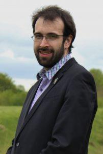 A photograph of Richard Hornby